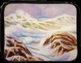 GATHERING STORM, Paintings, Realism, Seascape, Oil, By Zenon Wladyslaw Rozycki