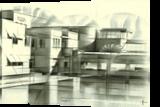 Gemeentemuseum - 05-08-16, Drawings / Sketch, Abstract,Cubism,Fine Art,Impressionism,Realism, Architecture,Cityscape,Composition,Figurative,Landscape, Pencil, By Corne Akkers
