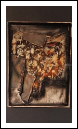 Genesis, Collage,Paintings, Abstract, Conceptual, Wood, By Roberto Lalli
