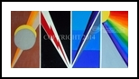 Geometric Stages of Grief, Paintings, Abstract, Inspirational, Acrylic, By Curtis Dickman