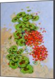 Geraniums, Drawings / Sketch,Paintings, Expressionism,Fine Art, Botanical,Daily Life,Decorative, Oil,Painting,Pencil, By federico cortese