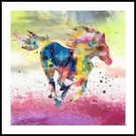 Ghabra, Paintings, Fine Art, Animals, Canvas, By Bashir Abduljaber Ali Hajji