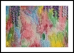 Giverny, Fiber Art, Abstract, Floral, Fiber, By Gill Roberts