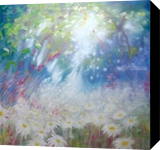 Glorious June - a large oil painting about Summer, Paintings, Fine Art, Landscape, Oil, By Gill Bustamante