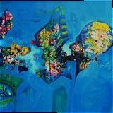 GLORY OF NATURE II, Paintings, Abstract, Environmental art,Fantasy,Nature, Acrylic, By sanjay g punekar