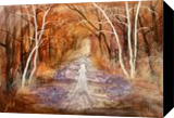 Goddess of the forest, Paintings, Fine Art, Fantasy,Landscape,Spiritual, Acrylic, By Marta Kuźniar