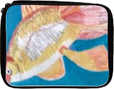 Gold fish, Paintings, Realism, Animals,Environmental art,Nature, Mixed, By Lisa Annette Bowersock