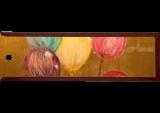 Golden Balls, Paintings, Abstract,Minimalism, Avant-Garde, Acrylic,Canvas,Oil,Spray Paint, By Sana Verba