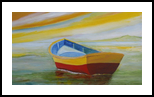 Golden Day, Paintings, Impressionism, Seascape, Canvas, By Alicia Maury Fine Art