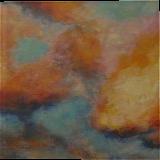 Golden illusions, original acrylic painting 50x52cm, Paintings, Expressionism,Fine Art,Impressionism, Land Art,Landscape,Nature, Acrylic,Wood, By Emilia Milcheva