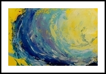 Good Vibes, Paintings, Impressionism, Tropical, Oil, By fred wilson