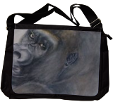 Gorilla's Celebrity Pose, Paintings, Expressionism,Fine Art,Realism, Animals,Humor, Painting,Watercolor, By Kelly A Mills