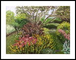 Grandmother's Garden, Paintings, Impressionism, Floral, Oil, By Richard John Nowak