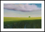 Green Valley, Paintings, Impressionism, Landscape, Canvas, By Alicia Maury Fine Art