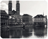 Grossmünster Zurich, Architecture, Photography, Fine Art, Performance Art, Photorealism, Architecture, Cityscape, Decorative, Performance Art, Photography: Metal Print, Photography: Photographic Print, Photography: Premium Print, Photography: Stretched Canvas Print, By Ira Silence