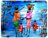 Happiness is togetherness, Paintings, Fine Art, Fantasy, Acrylic, By Smita Biswas