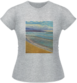 Hapuna Beach in Winter, Paintings, Fine Art, Seascape, Oil, By Will Bateman