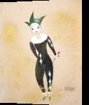 Harlequin, Paintings, Surrealism, Fantasy, Oil, By Natasa Menart