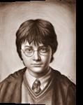 Harry Potter Portrait, Drawings / Sketch, Realism, Figurative, Oil, By Stefan Pabst