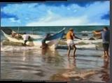 HC0229, Digital Art / Computer Art, Fine Art, Seascape, Digital, By Heloisa do Nascimento Castro