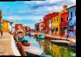 Hc0264, Digital Art / Computer Art, Expressionism,Fine Art, Decorative,Landscape, Digital,Oil, By Heloisa do Nascimento Castro