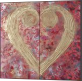 Heart love red floral paintings A111 Abstract Painting wall art Acrylic Original Contemporary Art for Lounge, Office or above sofa by artist Ksavera, Decorative Arts,Multipanel Art,Paintings, Abstract,Commercial Design,Expressionism,Modernism,Pop Art,Romanticism, Composition,Decorative,Fantasy,Inspirational,Medical Art,Spiritual,Weddings, Acrylic,Canvas, By Ksavera Art