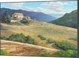 Heat of Fiesole, Paintings, Impressionism, Landscape, Canvas,Oil, By Mason Mansung Kang