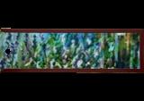 Heath, Paintings, Fine Art, Landscape,Nature, Acrylic,Canvas, By Marta Kuźniar