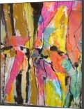 Hidden Faces, Collage, Abstract,Expressionism, Avant-Garde, Acrylic,Oil, By Joseph Culotta