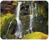 High Country Falls, Photography, Fine Art,Photorealism, Landscape,Nature, Photography: Premium Print, By Mike DeCesare