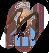 HM Queen, digital portrait, Digital Art / Computer Art, Fine Art, Figurative, Acrylic, By Vitali (VITALIV) Vin