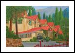 Holiday in Nainital, Paintings, Realism, Landscape, Canvas, By Ajay Harit