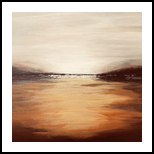 Horizon, Paintings, Abstract, Landscape, Acrylic, By Judith Cahill