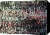 Howl, Calligraphy, Abstract, Handwriting, Acrylic,Painting,Spray Paint, By Jose Peyó Vazquez