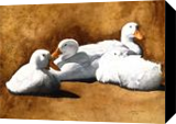 Huddle in a Cool Breeze, Paintings, Realism, Animals, Painting, By William Clark