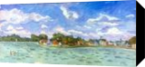 Hull, Paintings, Fine Art,Impressionism,Realism, Cityscape,Landscape,Seascape, Oil, By Marc Clamage