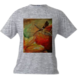 Hummingbird Moth, Paintings, Fine Art, Nature, Acrylic, By Marta Kuźniar