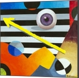 I'll keep an eye out 4 U, Paintings, Abstract, Anatomy, Acrylic, By Curtis Dickman