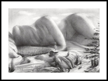 I lost my contacts - 23-09-17, Drawings / Sketch, Abstract,Fine Art,Impressionism,Realism,Surrealism, Composition,Fantasy,Figurative,Humor,Inspirational,Landscape,Nature,People, Pencil, By Corne Akkers