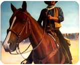 Image of a Hero, Paintings, Expressionism,Fine Art,Realism, Animals,Landscape,Portrait, Oil,Painting, By Michael Cavanagh