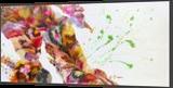 Imagination, Paintings, Abstract, Fantasy, Acrylic,Canvas, By Irini Karpikioti