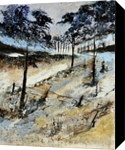 In the wood 59, Paintings, Expressionism, Nature, Canvas, By Pol Henry Ledent