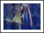 Ink Rain, Paintings, Abstract, Figurative, Oil, By Ashish Kumar Patel