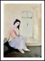 Innocence, Paintings, Fine Art, People, Oil, By Nelepcu Samuel Emanuel