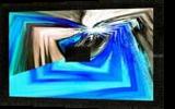 Insolite Bleu, Digital Art / Computer Art,Paintings, Abstract, 3-D,Avant-Garde,Fantasy,Grotesque, Acrylic,Digital, By Sévi Cabell Maghee