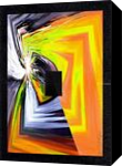 Insolite Jaune, Digital Art / Computer Art,Paintings, Abstract, 3-D,Avant-Garde,Fantasy,Grotesque, Acrylic, By Sévi Cabell Maghee