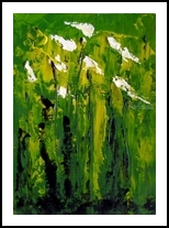 Iris', Paintings, Impressionism, Botanical, Oil, By fred wilson