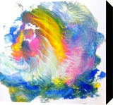 Island Rainbow, Paintings, Expressionism, Tropical, Painting, By fred wilson