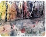 Isolated, Paintings, Abstract, Landscape, Watercolor, By james Allen lagasse