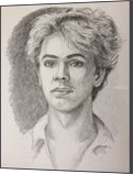 Ivo Pogorelich, Drawings / Sketch, Fine Art, Portrait, Pencil, By Victoria Trok